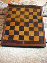 Photo: CH10; English; Victorian board/box with 1.5in squares. Compare with the larger CH203.