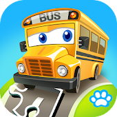 Kids Puzzle: Vehicles
