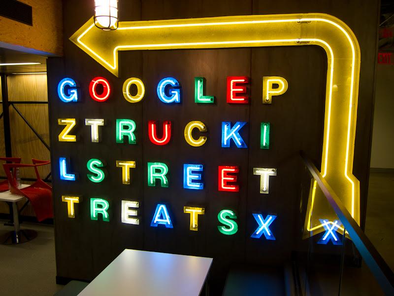 Photo: Google Truck Pit cafe sign.
