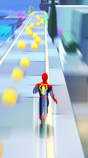Super Heroes Fly: Sky Dance - Running Game modavailable screenshots 3