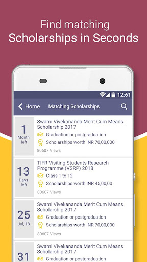 Scholarships for Indian students - Buddy4Study screenshots 2