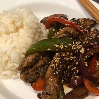 Steak and Pepper Stir-Fry with Spicy Black Bean Sauce Recipe