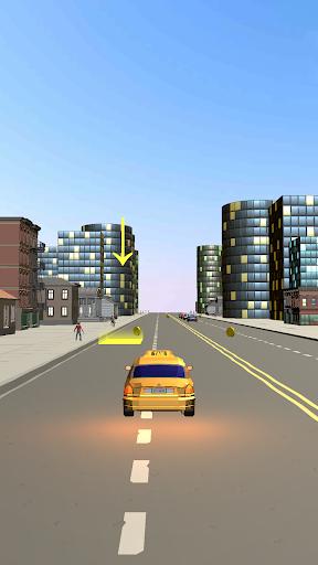 Code Triche Taxi Go - Crazy Driving 3D APK MOD (Astuce) screenshots 4