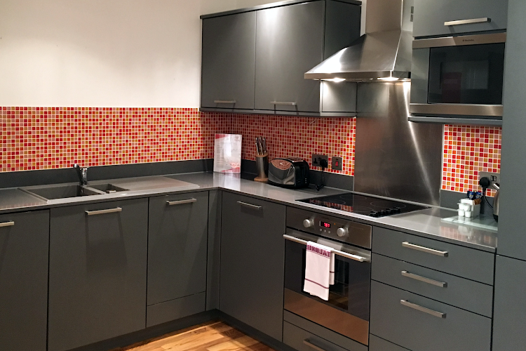 Fully equipped kitchen at King's Cross Standard