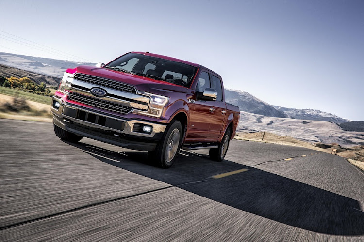 Ford has tried to bring some of that F150 US pick-up truck grit to the Everest. Picture: NEWSPRESS USA