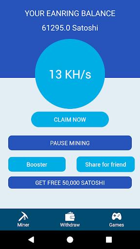 Bitcoin Miner Robot - Free Bitcoin Miner Android app (apk) free