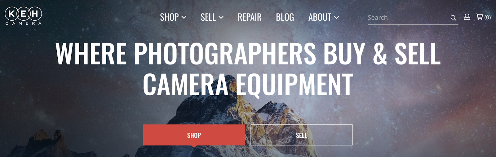 KEH Camera - Where Photographers Buy & Sell Camera Equipment