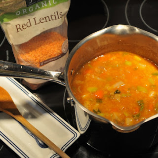 Ingredients Red Lentil Soup