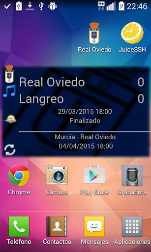 Real Oviedo Widget