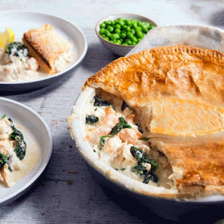 Celebration Smoked Fish and Haddock Puff Pastry Pie.