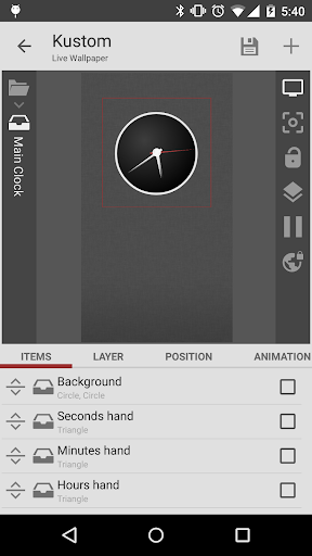 Screenshot for KLWP Live Wallpaper Pro Key in Hong Kong Play Store
