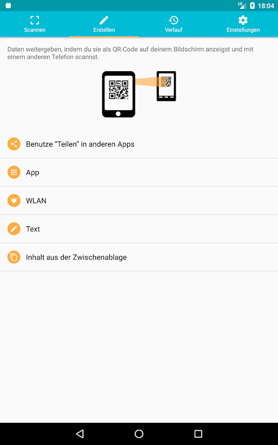 qr barcode scanner deutsch android apps auf google play. Black Bedroom Furniture Sets. Home Design Ideas