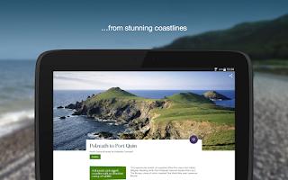Screenshot of National Trust