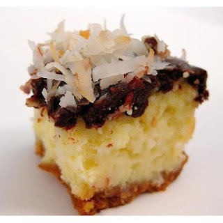Coconut Almond Cheesecake