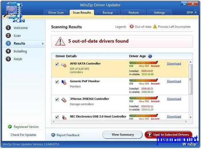 WinZip Driver Updater Free Download