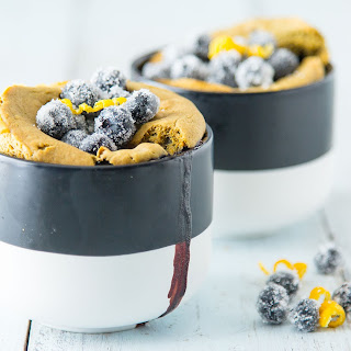 Blueberry Lemon Muffin Mug Cake.