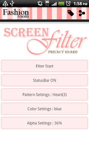 Simple Screen Filter screenshots 1