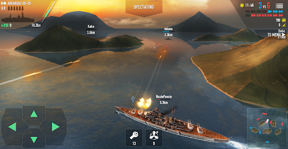 Battle of Warships MOD Apk 1.72.12 (Unlimited Money) 6