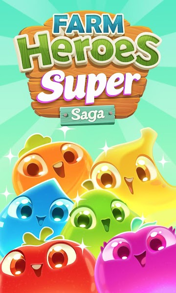 Farm Heroes Super Saga Match 3 v0.56.4 [Mod]
