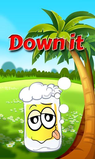 Down it