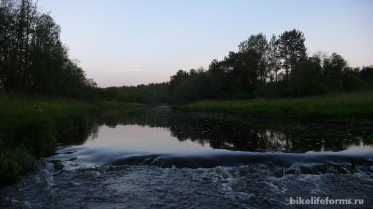 отдых на реке Держа
