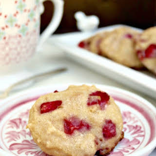 Strawberry Scones Recipe with Coconut Milk.