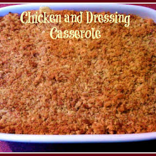 Southern Chicken and Dressing Casserole!.