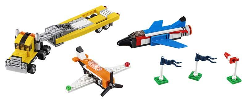 Contenido de Lego® 31060 Ases del Aire