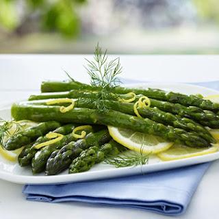 Lemon and Dill Asparagus