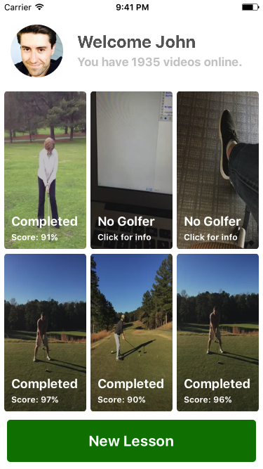 Swingbot Golf Swing Analysis- screenshot