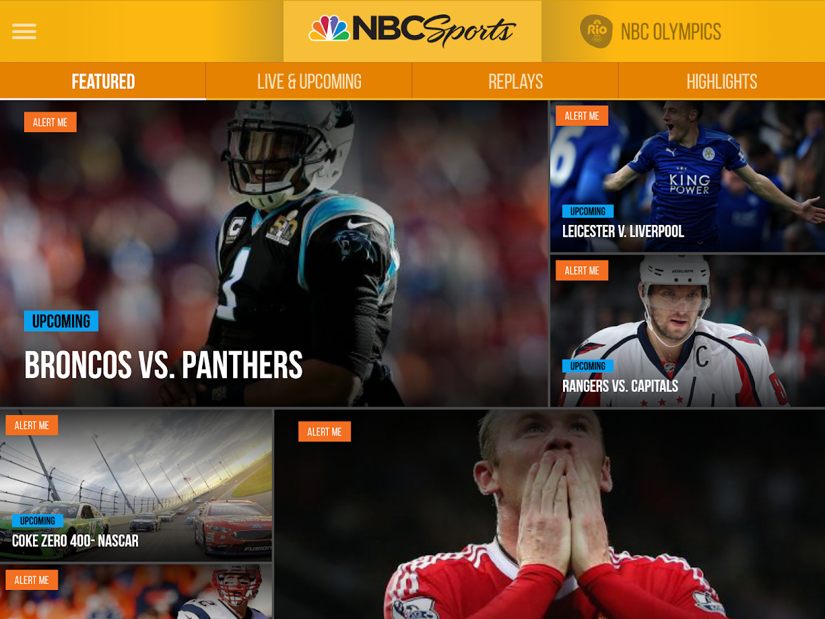 NBC Sports- screenshot