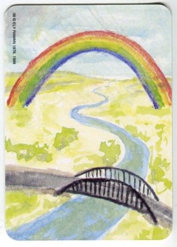 Карта из колоды метафорических карт Ох: радуга