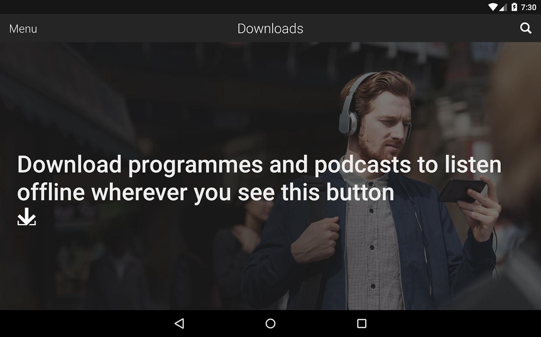 BBC iPlayer Radio - screenshot