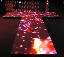 Photo: Ultra-thin floor display