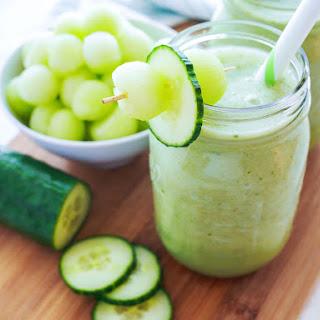 Cucumber Melon Smoothie.