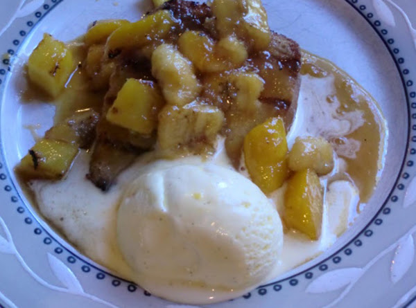 Grilled Tahitian Fruit Foster Recipe