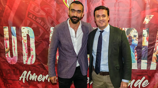 """Javier A. García: """"Una suerte que Turki Al-Sheikh eligiera Almería"""""""
