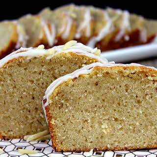Lemon Almond Milk Pound Cake.