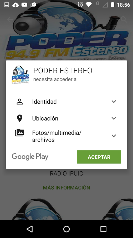 PODER ESTEREO- screenshot
