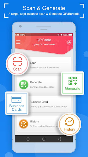 Lightning QR Code Scanner: Business Card Generator - Download