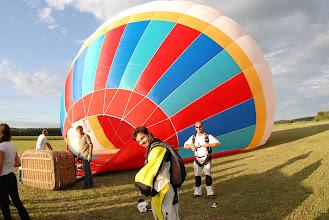 Photo: Gonflage du Ballon