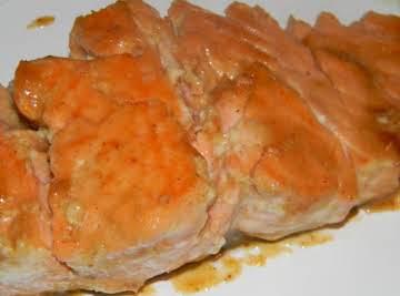Brown Sugar and Honey Glazed Salmon
