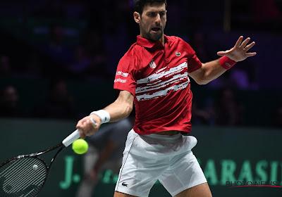 Djokovic stoot door na een lastige partij, Dimitrov en Tsitsipas mogen zich ook opmaken voor de tweede ronde