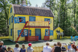 Photo: Schweden - Astrid Lindgrens Welt Pipis Villa Kunterbunt (HDR)