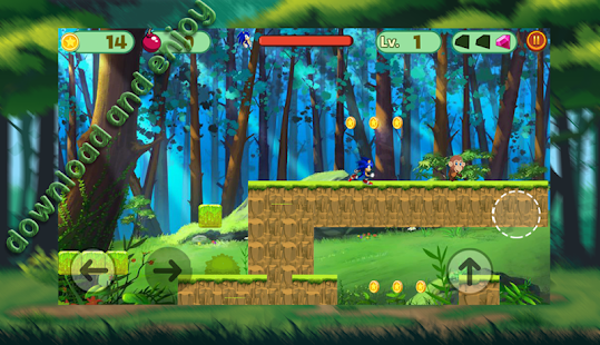 Sonic Speed : Super Jungle World - náhled