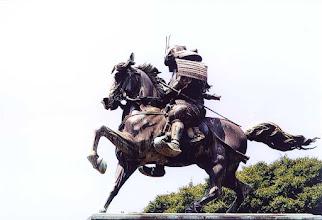Photo: Tokio - pomnik samuraja / Tokyo - the samurai