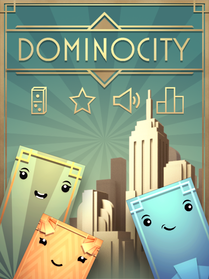 Dominocity- screenshot
