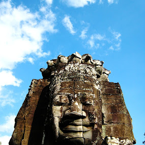 Bayon Temple, Cambodia by Won Yee Ong - Buildings & Architecture Places of Worship