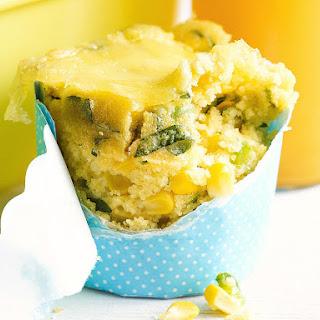 Cheesy Corn Muffins.