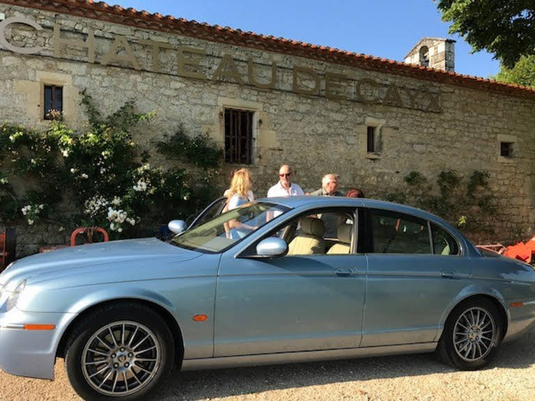 Jaguar S Type Hire Saint Pantaleon De Larche